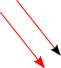 Inkscape: arrows with same arrowhead color as the path